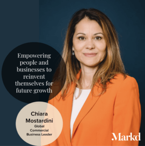 Chiara Mostardini with a Markd Global quote